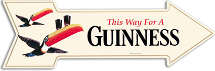 Guinness & Co. Tin Sign