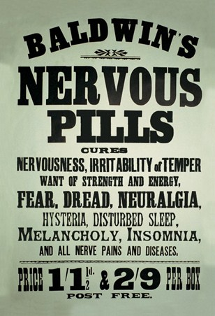 Cure Nervousness, Irritability, Fear & Dread!
