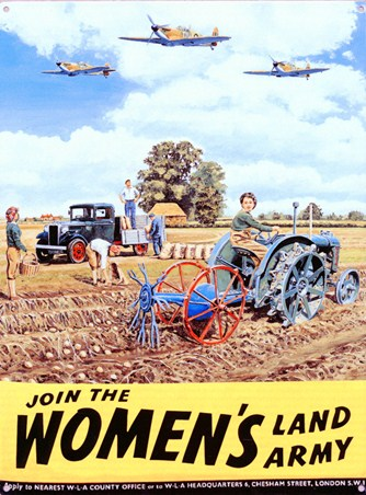Join the Women's Land Army