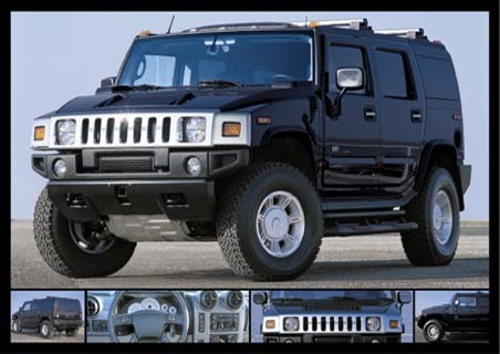 Black Stealth - Hummer