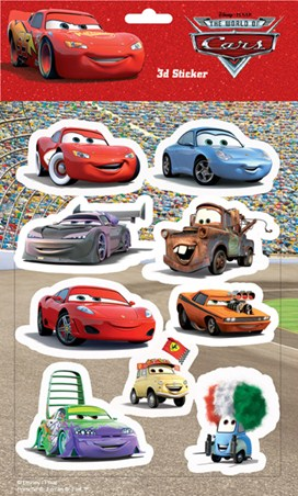 Disney Pixar The World of Cars - Cars: The Movie
