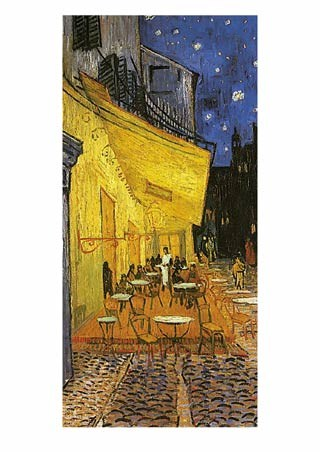 Cafe Terrace at Night, 1888 - Vincent Van Gogh
