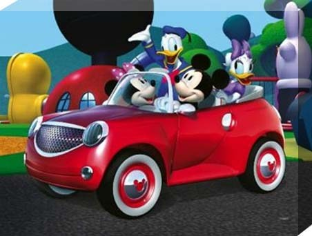 Driving Fun with Mickey Mouse and the Gang!