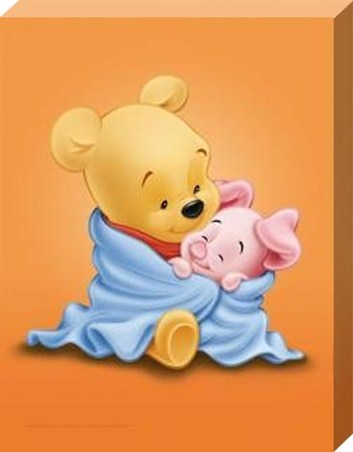 Bed Time with Baby Pooh and Piglet
