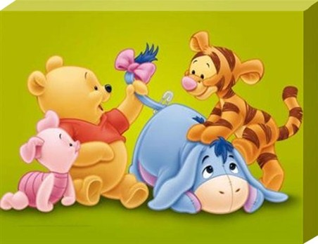 Baby Pooh and the Gang!