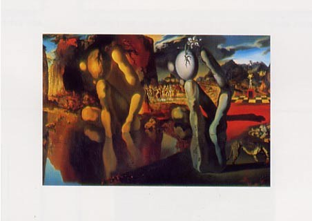 Metamorphosis of Narcissus, 1936-7 - Salvador Dali