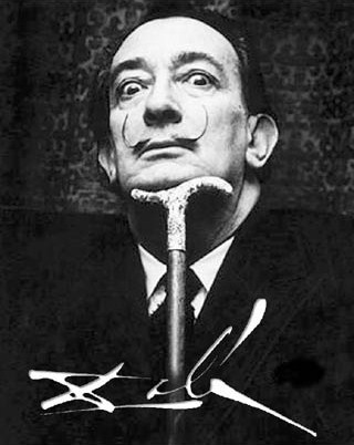 Portrait of the Artist - Salvador Dali