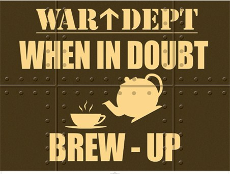War Dept; When in Doubt