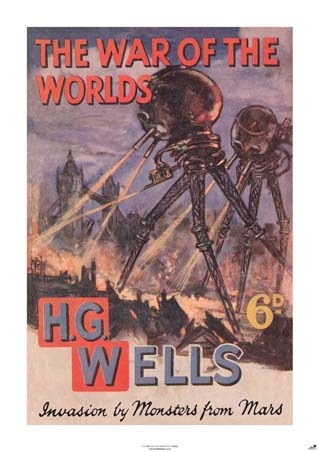 the war of the worlds book cover. War of the Worlds - H.G. Wells