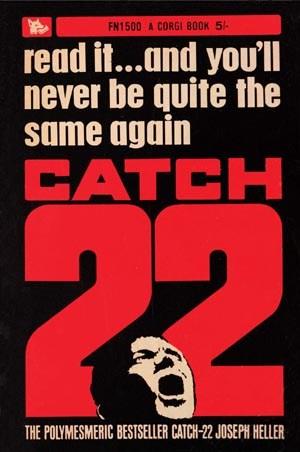 Catch 22, Joseph Heller Poster: 84cm x 59cm - Buy Online