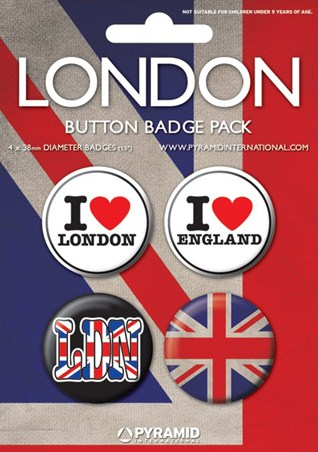 Patriotic Accessories - I Love London