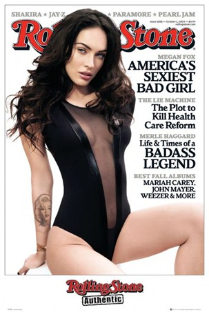"Rolling Stone Cover - Megan Fox. 61cm x 91.5cm (24"" x 36"") Poster"