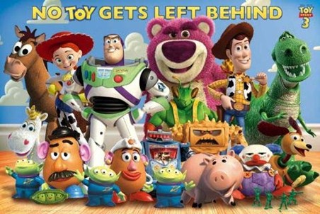 No Toy Gets Left Behind! - Toy Story 3