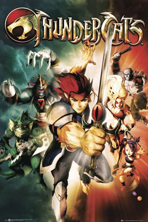 Thundercats 2011 Poster on Lion O To The Rescue   Thundercats Poster  91 5cm X 61cm   Buy Online