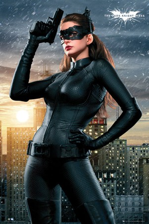 Anne Hathaway is Catwoman - Batman:The Dark Knight Rises
