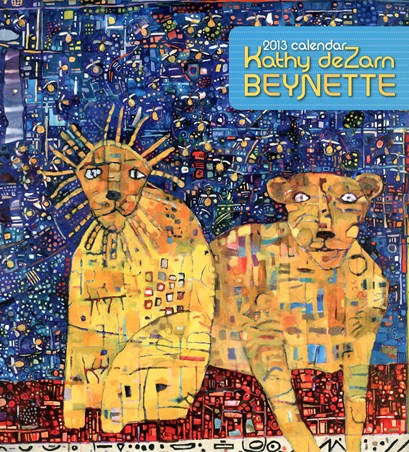 Joyful & Whimsical Paintings - Kathy DeZarn Beynette