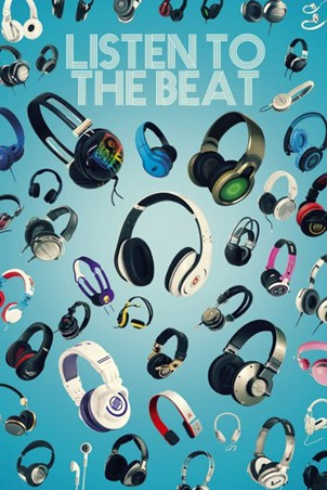 Listen to the Beat - Headphones