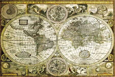 Historical World Map - Map of the World
