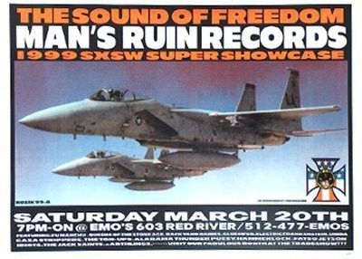 Man's Ruin Records 1999 SXSW Showcase - Frank Kozik