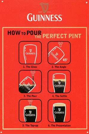 How to Pour the Perfect Pint