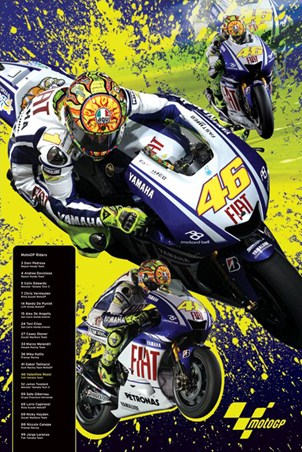 The Legendary Valentino Rossi - Moto GP