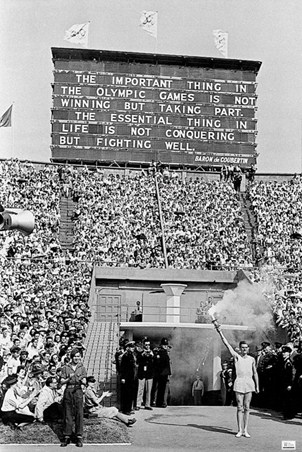 The Opening Ceremony - London 1948 Olympic Games