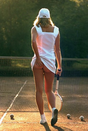 Tennis Girl - Martin Elliot