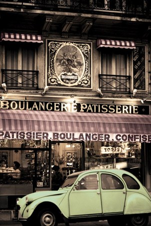 Parisian Patisserie - Vintage Photography