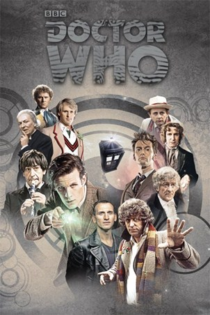 Time Lords Through Time - Doctor Who