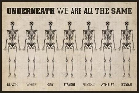 Sme rovnakí.