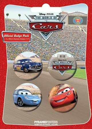 Lightning McQueen and Co. - Cars: The Movie