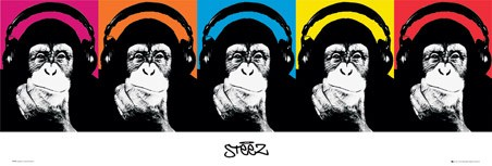 Monkey Collage - Steez
