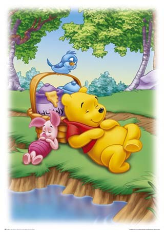piglet from winnie pooh. Piglet amp; Pooh Sleeping after