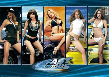Fast and furious hot girls