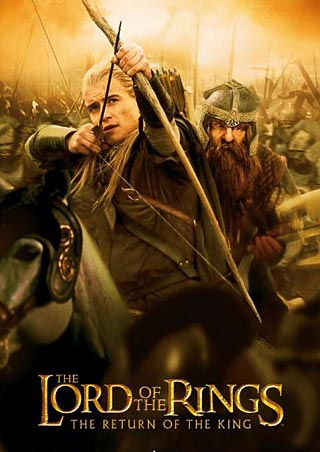 Le Seigneur des Anneaux / The Hobbit #4 Lgfp1269+legolas-and-gimli-lord-of-the-rings-return-of-the-king-poster