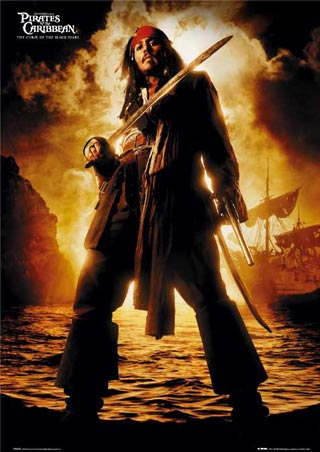 Johnny Depp is Captain Jack Sparrow - Pirates of the Caribbean