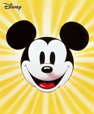 Children's Animated Cartoon Character: Mickey Mouse