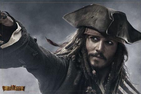 johnny depp pirates of the caribbean at world