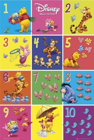 1 to 10 with Winnie The Pooh and Friends - A.A.Milne's Winnie the Pooh