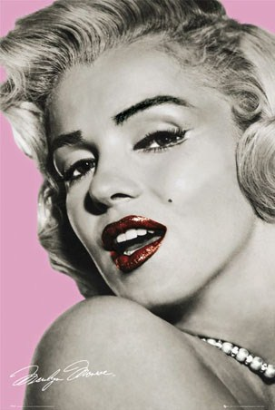 Pouting Princess - Marilyn Monroe
