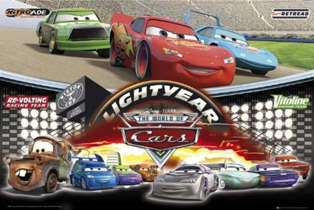 cars 2 pixar. Disney Pixar: The World Of