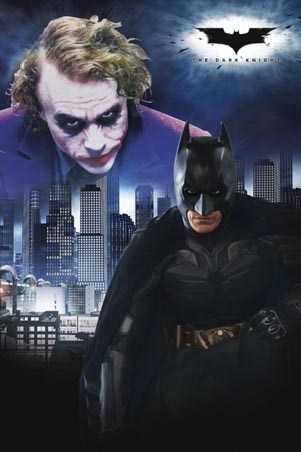 Batman and The Joker - Batman - The Dark Knight
