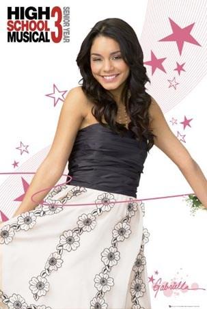 Vanessa Hudgens as Gabriella Montez - High School Musical 3