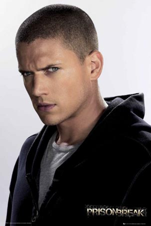 Wentworth Miller as Michael Scofield - Prison Break