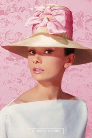 """Схема вышивки  """"Audrey Hepburn """": оригинал."""