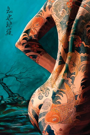 Fantasy Art Poster: Tattooing