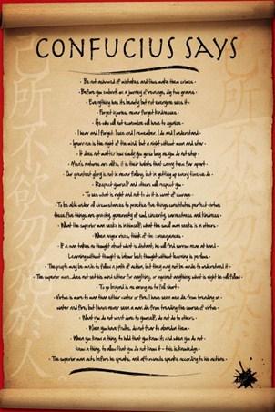 quotes on justice. Confucius Says - 28 Quotes