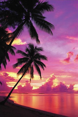 Tahitian Sunset - Landscape Photography