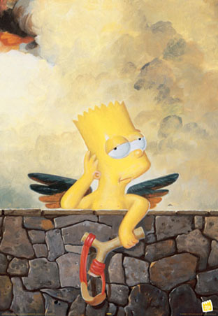 lghr12147+cherubs bart simpson the simpsons poster imagenes de bart simpson