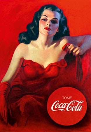 Red Dress - Coca-Cola